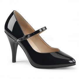 Patent Mary Jane Court Shoe in larger sizes for Sissy Maids