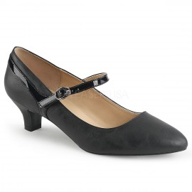 Patent Kitten Heel   Mary Jane Shoe in Larger Sizes for Sissy Maids