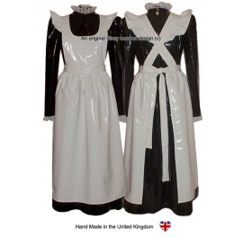 PVC Victorian Sissy Maid Uniform