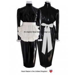 Melissa PVC Hobble Sissy Maids Punishment Uniform