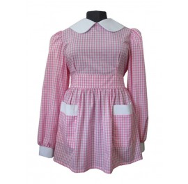 Gingham Sissy Little Schoolgirl Dress