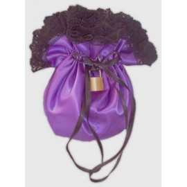 Satin Clitty Bag for Sissy maids