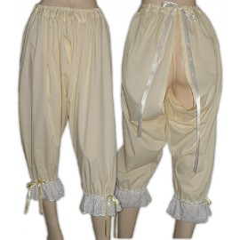 Sissy Maids Victorian  Open crotch Bloomers