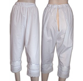 Sissy Maids Victorian long bloomers