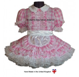 Chloe Sissy Maids Gingham Uniform