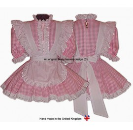 Vikki Sissy Maids Gingham Uniform