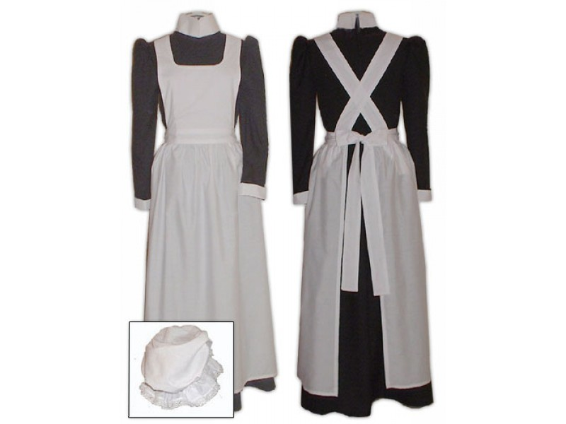 Victorian Sissy House Maids Uniform