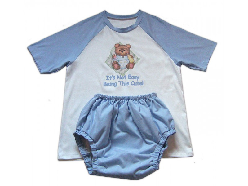 AB/DL Sissy Baby Sleepsuit   *Its Not Easy Being This Cute!*