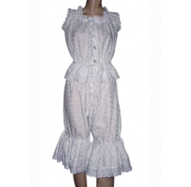 Victorian Sissymaids French Bloomers and Camisole Set