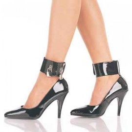 Locking ankle cuff court shoe Sissy maids