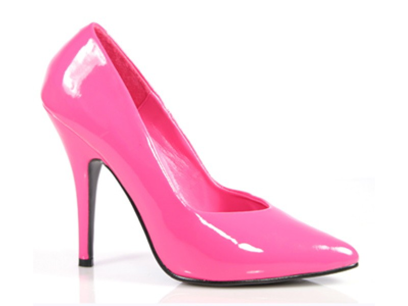 Seductive High Heel Courts  larger sizes for Sissy Maids