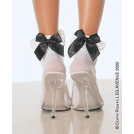 Sissy maids style Anklets with bow