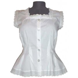 Frilly Sissy Victorian Corset Cover