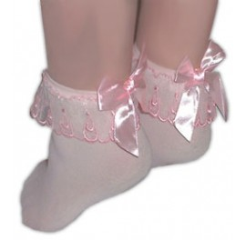 Pretty Sissy Sock with bow