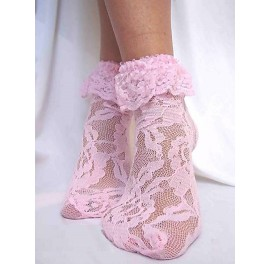 Pretty lace sock