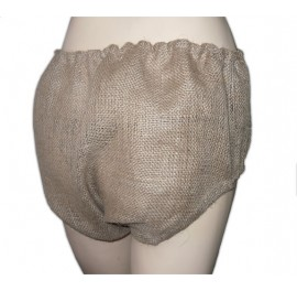 Hessian Sissy Punishment Panties