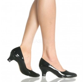 Low Heel Court Shoe - Sissy Maids F420