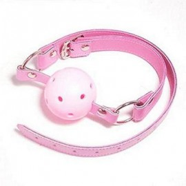 Sissy Pink  Breathable Ball Gag