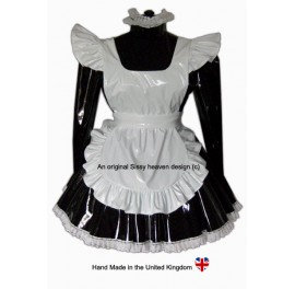 Louisa PVC Locking Sissy Uniform