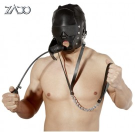 Leather Head Mask Gag