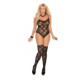 Lace Teddy Set Plus Size