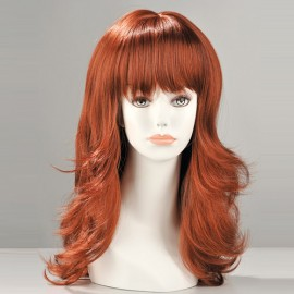 Fiona Red Long Wig -Sissy TV/CD