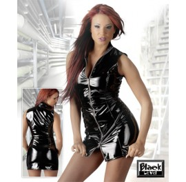 PVC Zipper Dress - Sissy Mistress